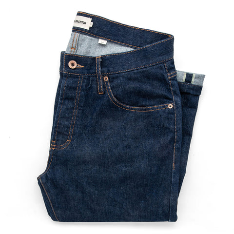 The Slim Jean in Organic Stretch Selvage - featured image