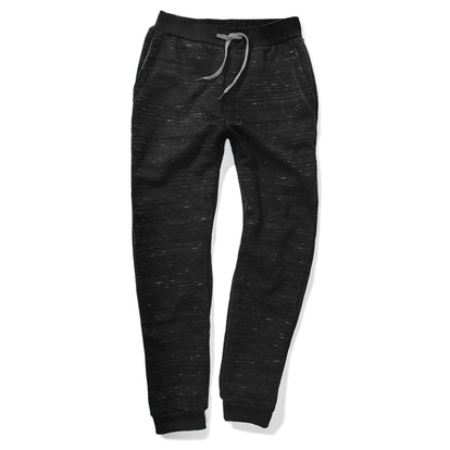 The Travel Pant in Black Fleece