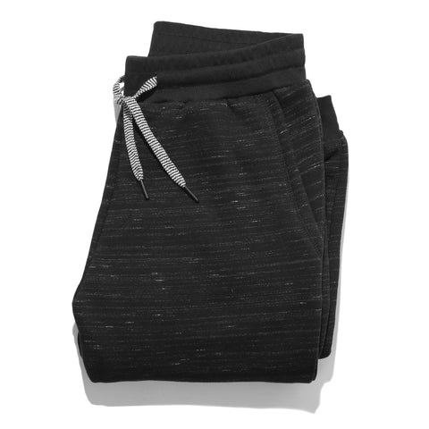 The Travel Pant in Black Fleece - featured image