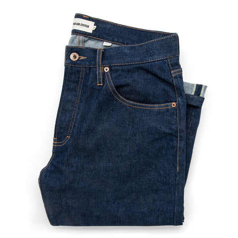 The Democratic Jean in Organic Stretch Selvage - featured image
