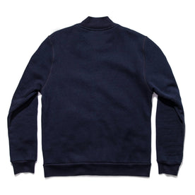 The Bomber in Indigo Fleece: Alternate Image 7