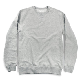 The Crewneck Sweatshirt in Heather Grey French Terry: Featured Image