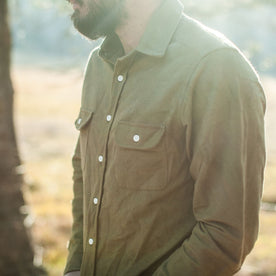 The Yosemite Shirt in Olive Drab: Alternate Image 1