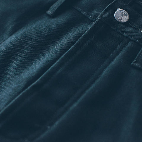 The Chore Pant in Coal - alternate view