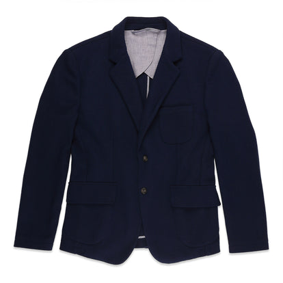 The Telegraph Jacket in Navy Boiled Wool: Featured Image