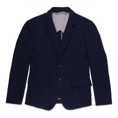 The Telegraph Jacket in Navy Boiled Wool - featured image
