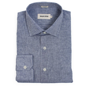 The Hyde in Indigo Cotton and Linen: Featured Image