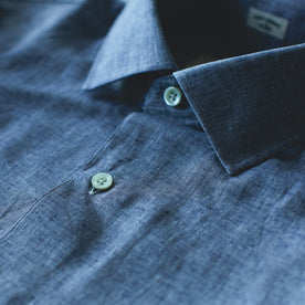 The Hyde in Indigo Cotton and Linen: Alternate Image 1