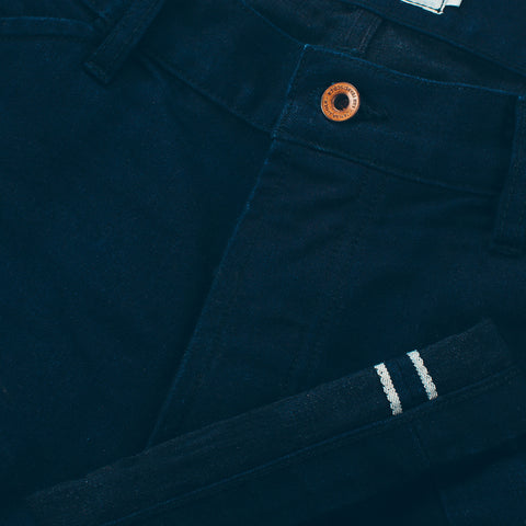 The Camp Pant in Indigo Selvage Twill - alternate view