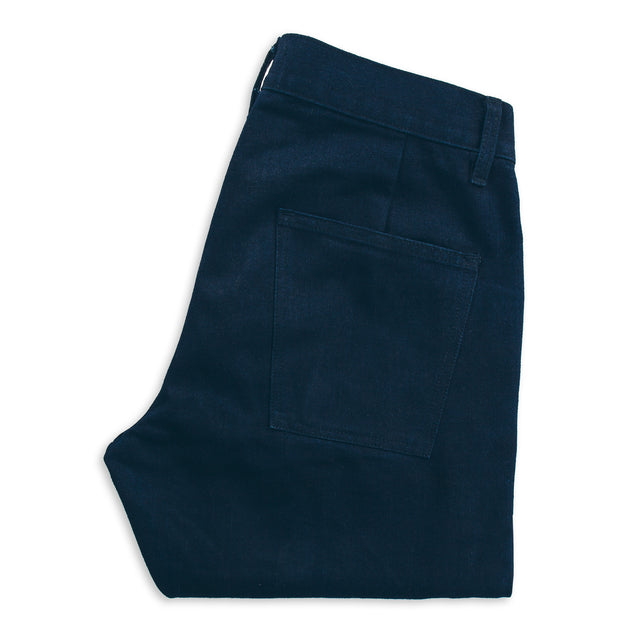 The Camp Pant in Indigo Selvage Twill