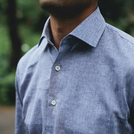 The Hyde in Indigo Cotton and Linen: Alternate Image 4