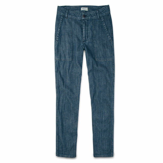 The Cavallo Pant in Corded Denim