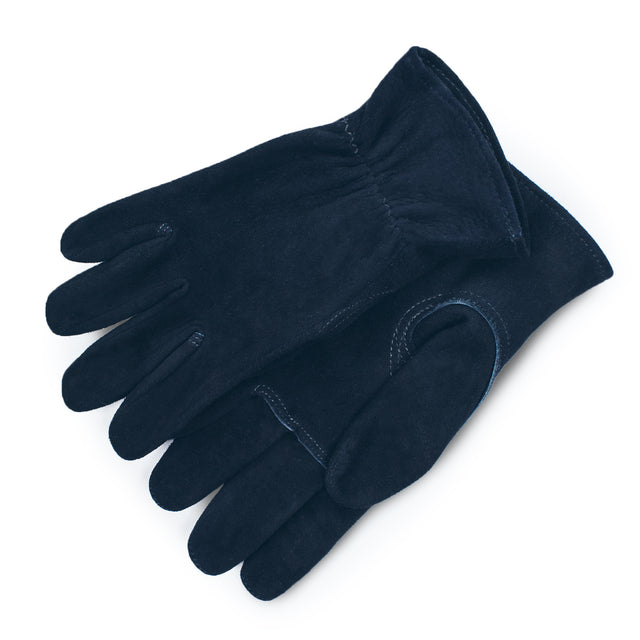 The Utility Glove in Navy Deerskin