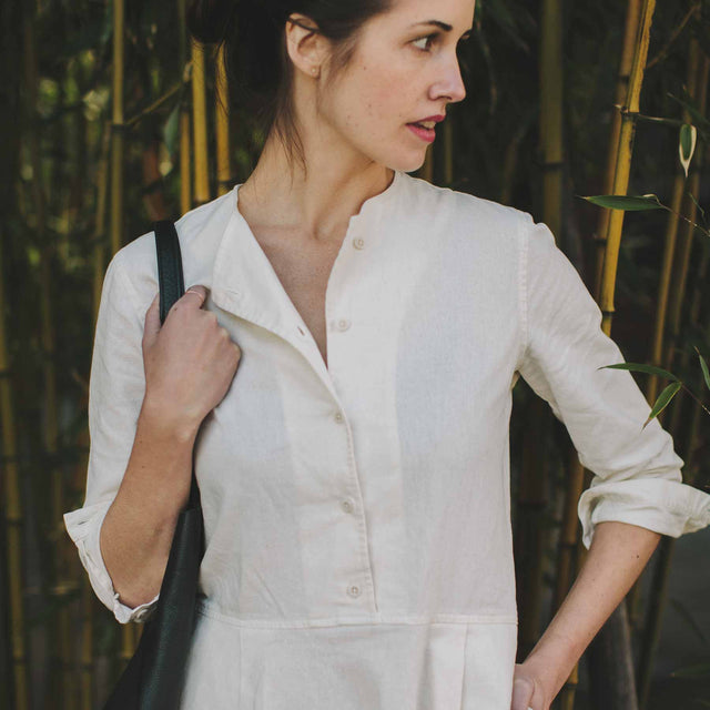 The Juniper Dress in Ivory