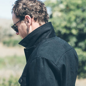 The Long Haul Jacket in Yoshiwa Mills Black Selvage: Alternate Image 10