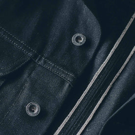 The Long Haul Jacket in Yoshiwa Mills Black Selvage: Alternate Image 2