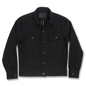 The Long Haul Jacket in Yoshiwa Mills Black Selvage: Featured Image
