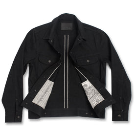The Long Haul Jacket in Yoshiwa Mills Black Selvage: Alternate Image 8