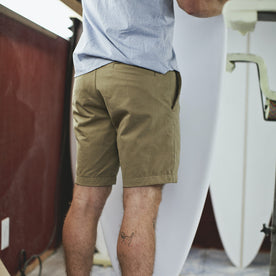 Traveler Shorts in Khaki Twill: Alternate Image 3