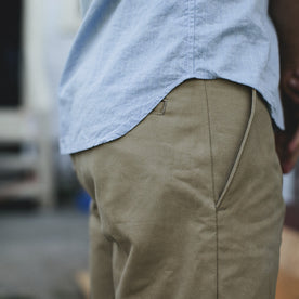 Traveler Shorts in Khaki Twill: Alternate Image 1