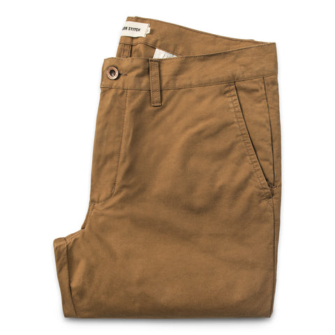 The Travel Chino in British Khaki - featured image
