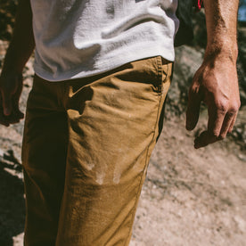 The Travel Chino in British Khaki: Alternate Image 4
