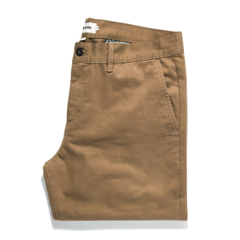 The Slim Chino in Khaki - featured image