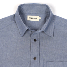 The California in Light Blue Everyday Chambray: Alternate Image 3