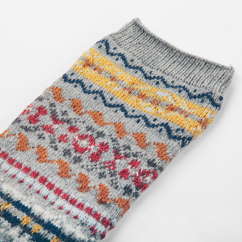 Anonymous Ism Fair Isle - Grey - alternate view