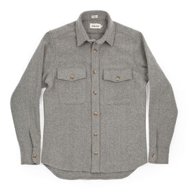The Maritime Shirt Jacket in Ash Melton Wool: Alternate Image 2
