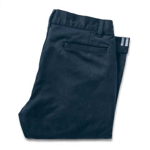 The Commuter Chino in Navy Merino 4S - featured image
