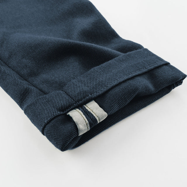 The Commuter Chino in Navy Merino 4S