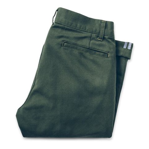 The Commuter Chino in Olive Merino 4S - featured image