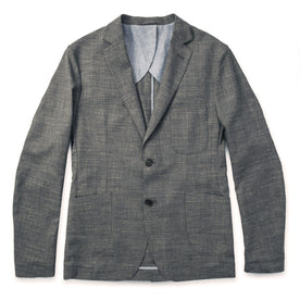 The Telegraph Jacket in Charcoal: Featured Image
