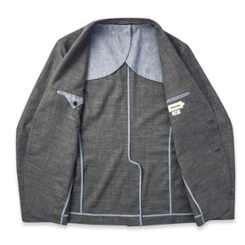 The Telegraph Jacket in Charcoal: Alternate Image 7
