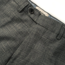 The Telegraph Trouser in Charcoal: Alternate Image 5