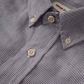The Jack in Navy Striped Cotton & Linen