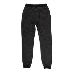The Men's Apres Sweatpant in Salt and Pepper Fleece