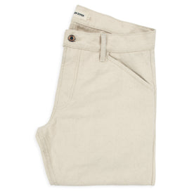 The Camp Pant in Natural Selvage Canvas: Featured Image