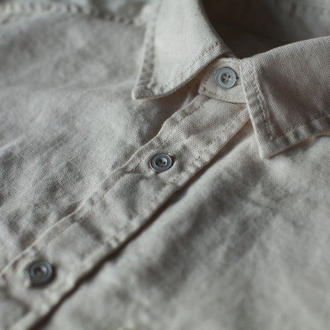 The Chore Shirt in Natural - alternate view