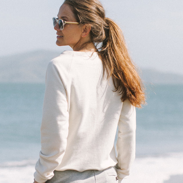 The Weekend Sweatshirt in Natural