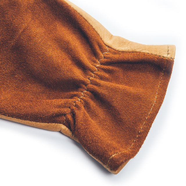 The Utility Glove in Natural Deerskin