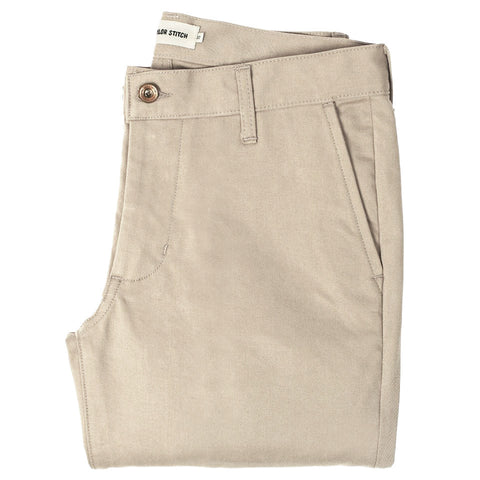 The Slim Chino in Light Stone - featured image
