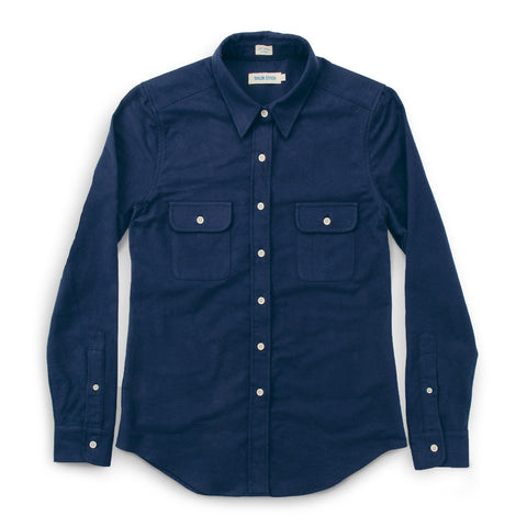 The Sierra Shirt in Navy - featured image
