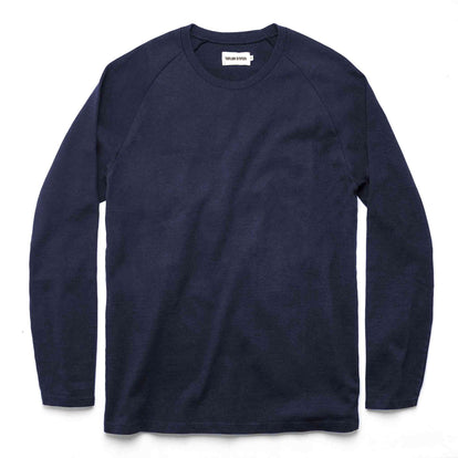 The Heavy Bag Long Sleeve in Navy: Featured Image