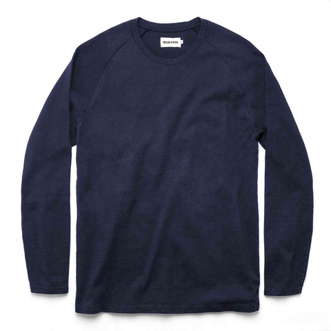 The Heavy Bag Long Sleeve in Navy - featured image