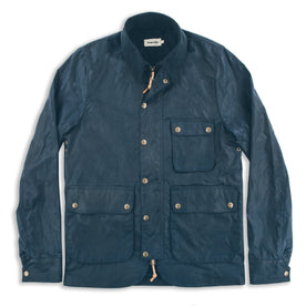 The Rover Jacket in Navy Waxed Cotton: Featured Image