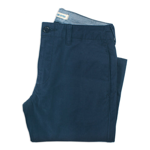 The Curator Pant in Navy - featured image