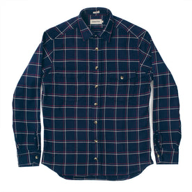 The Crater Shirt in Navy Plaid: Alternate Image 2