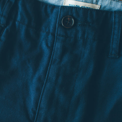 The Curator Pant in Navy - alternate view